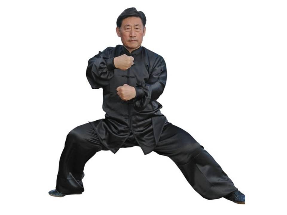 Saténový komplet tchaj-ťi čchűan (taiji quan)