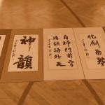 Chen Xiaowang tchaj-ťi a kaligrafie