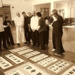 Mistr Chen umě ovládá měč i kaligrafii