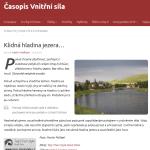 Klidna Hladina Jezera… Casopis Vnitrni Sila