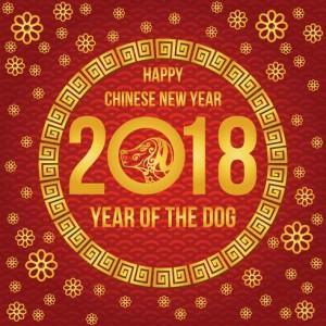 Nový čínský rok psa 2018